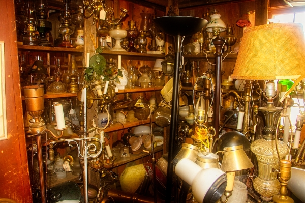 Electrical Department. Junk Shop, Weymouth. MA.