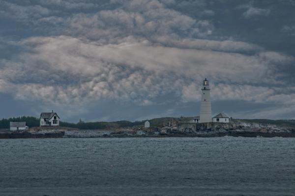 Hull Light. Massachusetts.