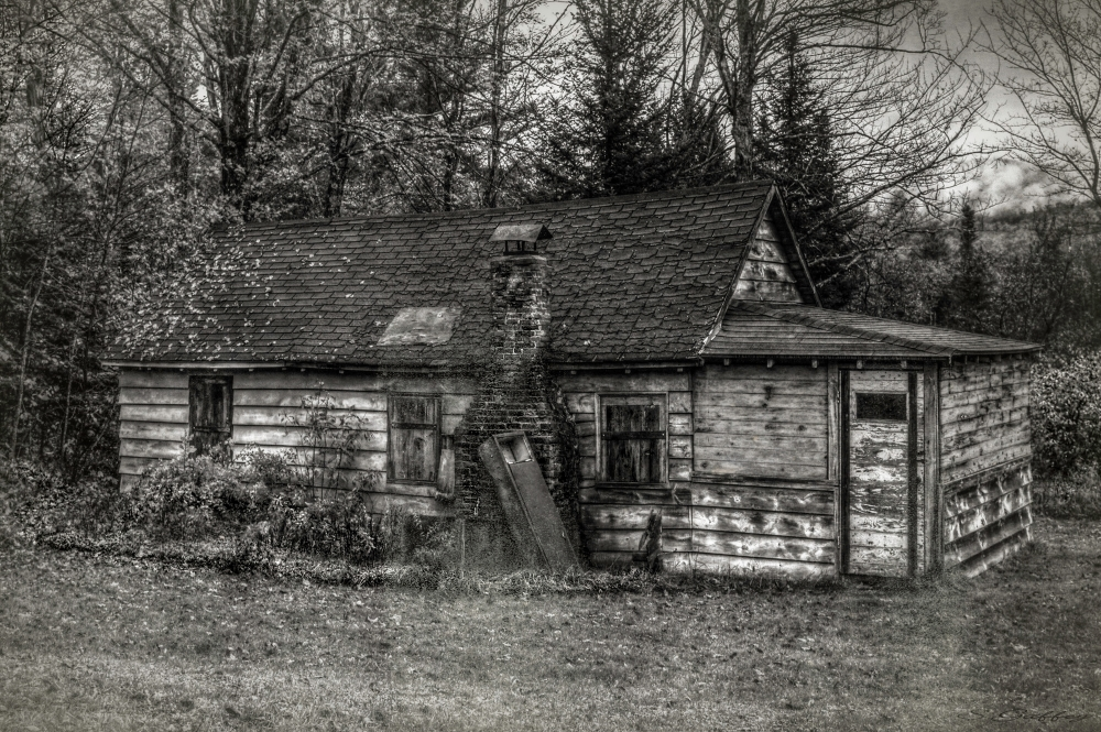 Derelict  House. New Hampshire.