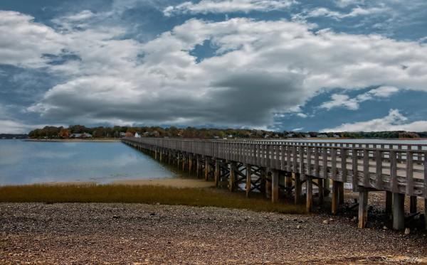 Bridge. Marshfield Massachusetts.