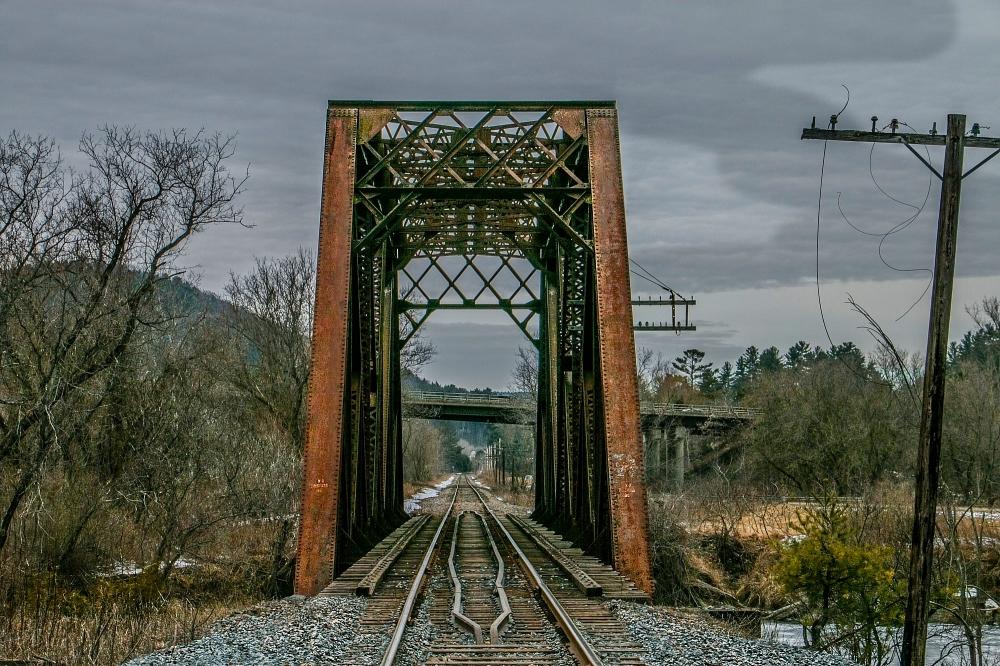 Railway. Vermont.