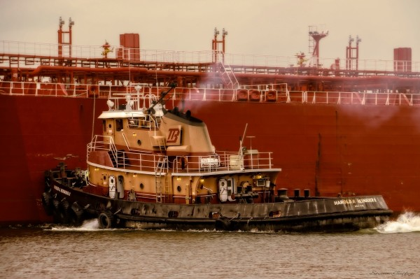 Boston Tug. Weymouth Massachusetts.