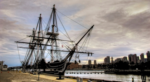 USS  CONSTITUTION.  BOSTON.