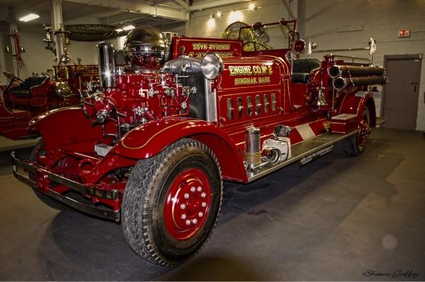 Engine Number 2. Hingham Massachusetts. (2)