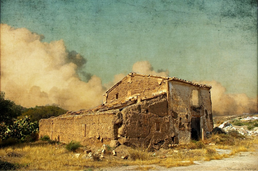 Derelict Farmhouse. Albox, Spain.