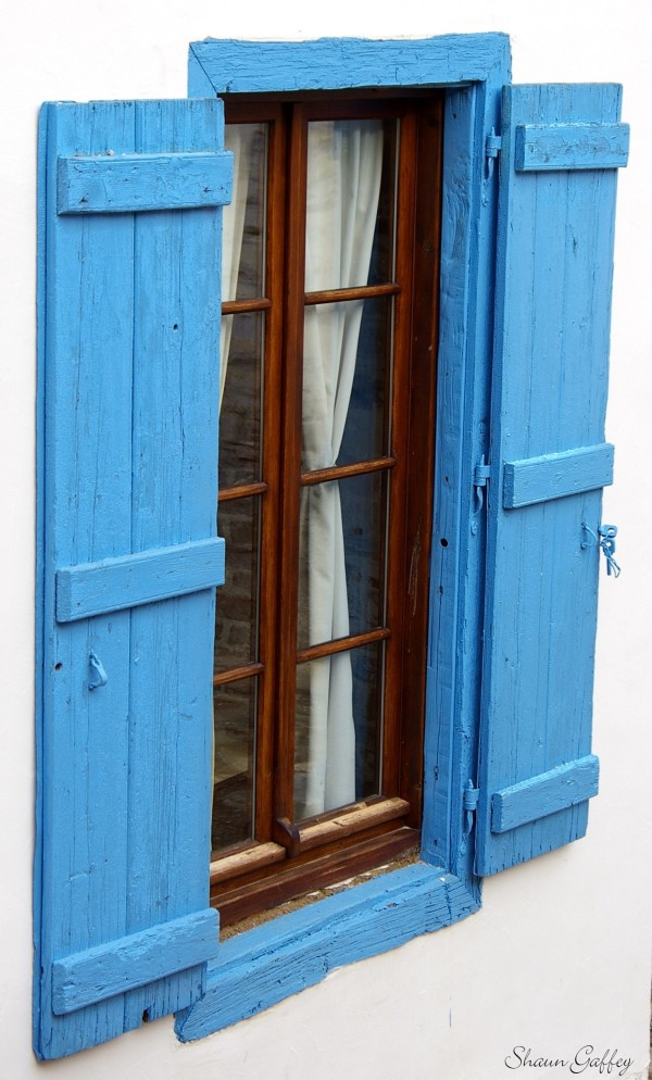 Window. Samos Greece.