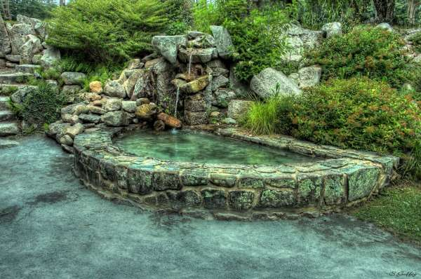 Garden Pool. Brockton Massachusetts.