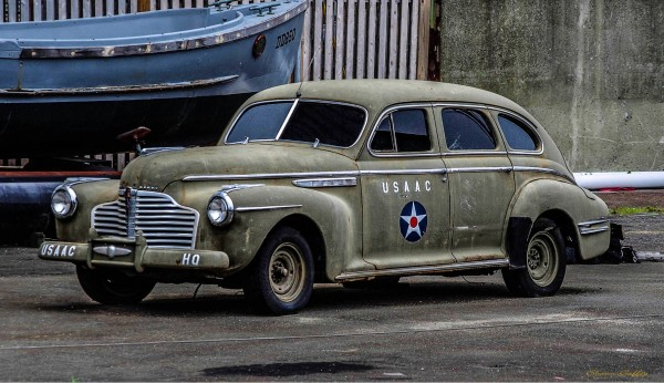 WW2. Army Air Corps Staff Car.