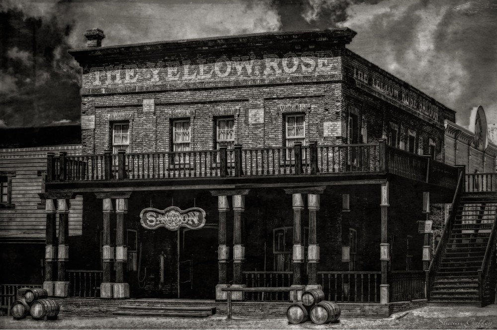 The Yellow Rose Saloon.