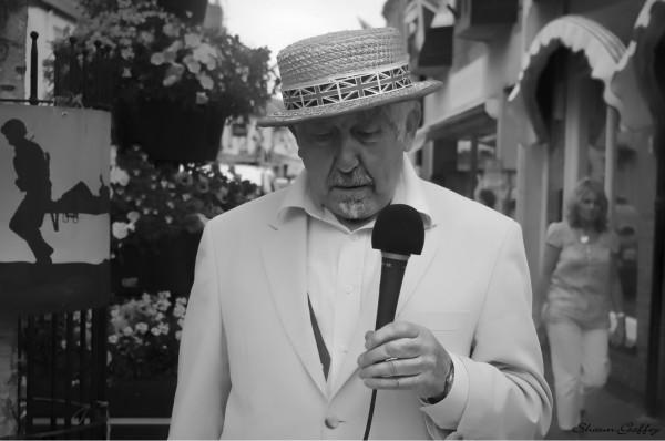 Street Entertainer. Sidmouth Devon U.K.