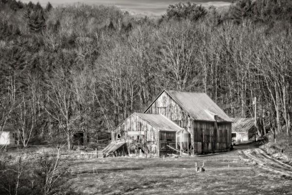Barn. Vermont.