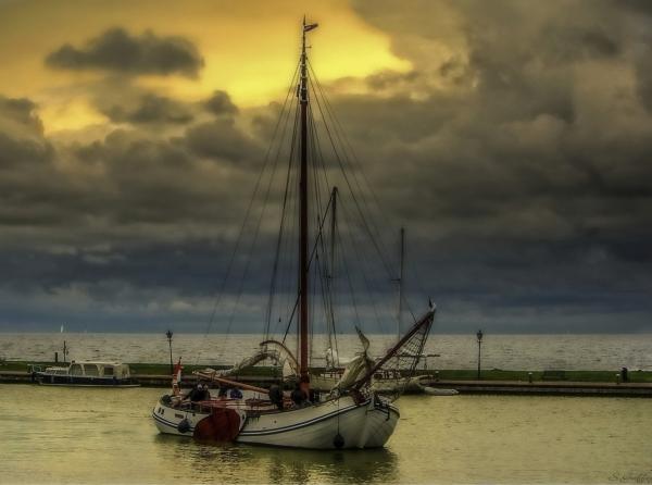 Sailing Home.