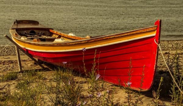 Boat. Hull Gut Massachusetts.