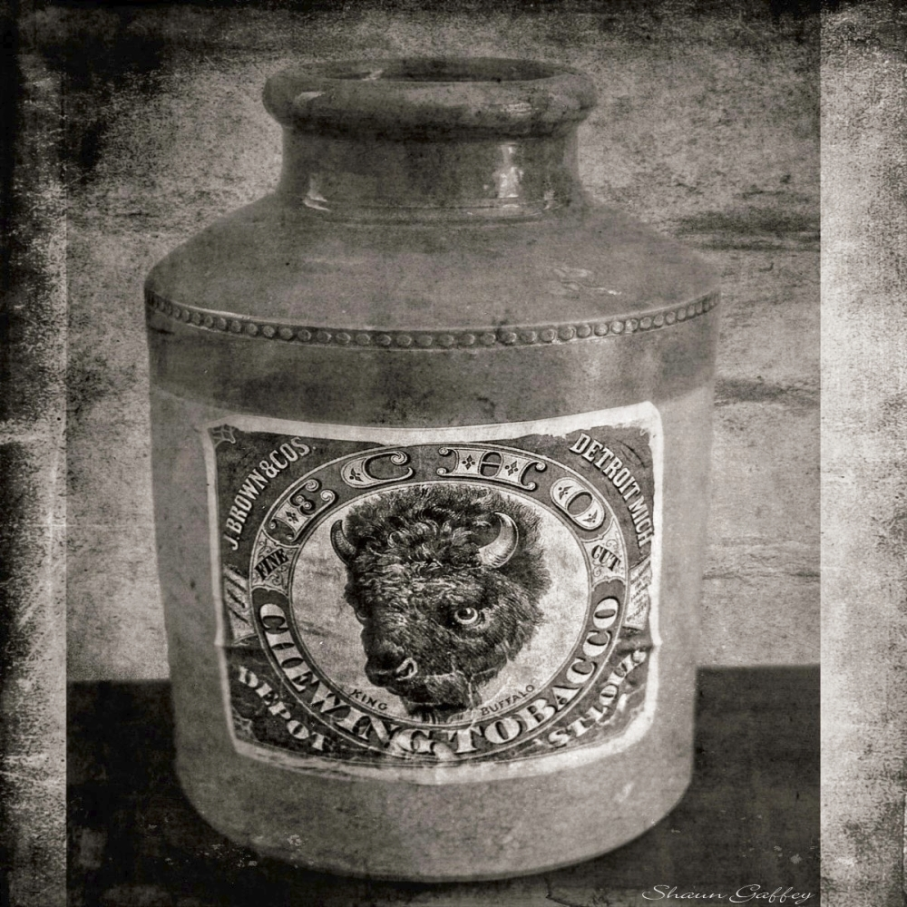 Old Tobacco Jar.
