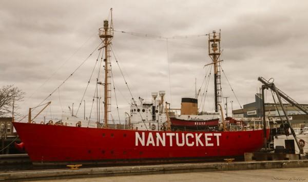 Nantucket Lightship. Boston Massachusetts.