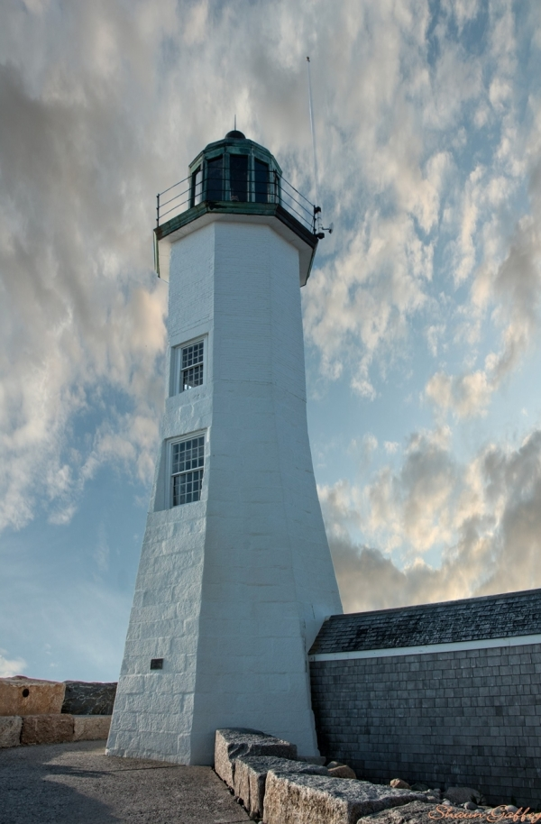 Scituate Light. Massachusetts.