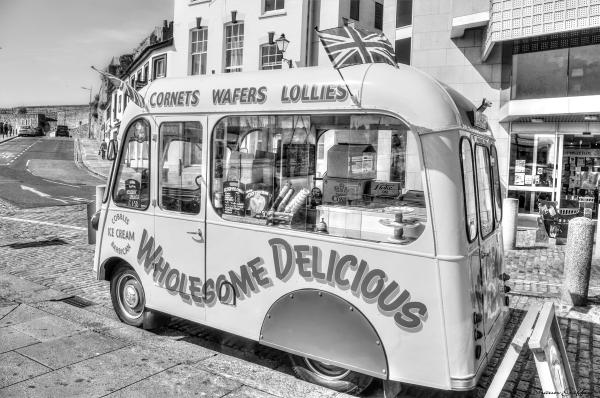 Cobbles Ice Cream. Plymouth Devon.
