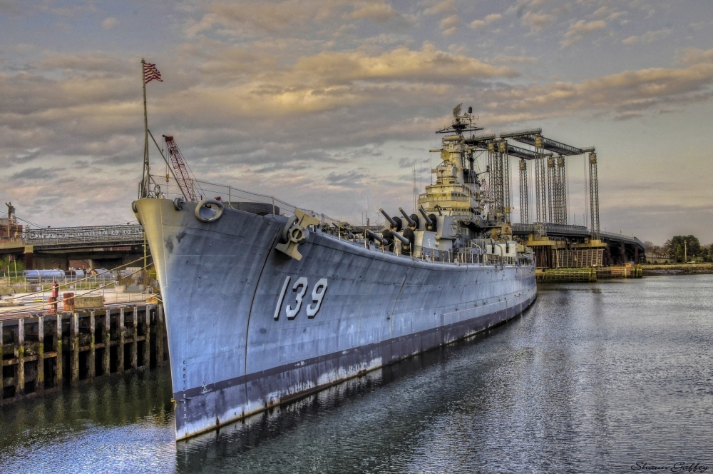 USS SALEM. Weymouth Massachusetts.