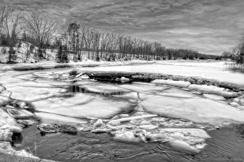 Weirs River. Cohasset Massachusetts.