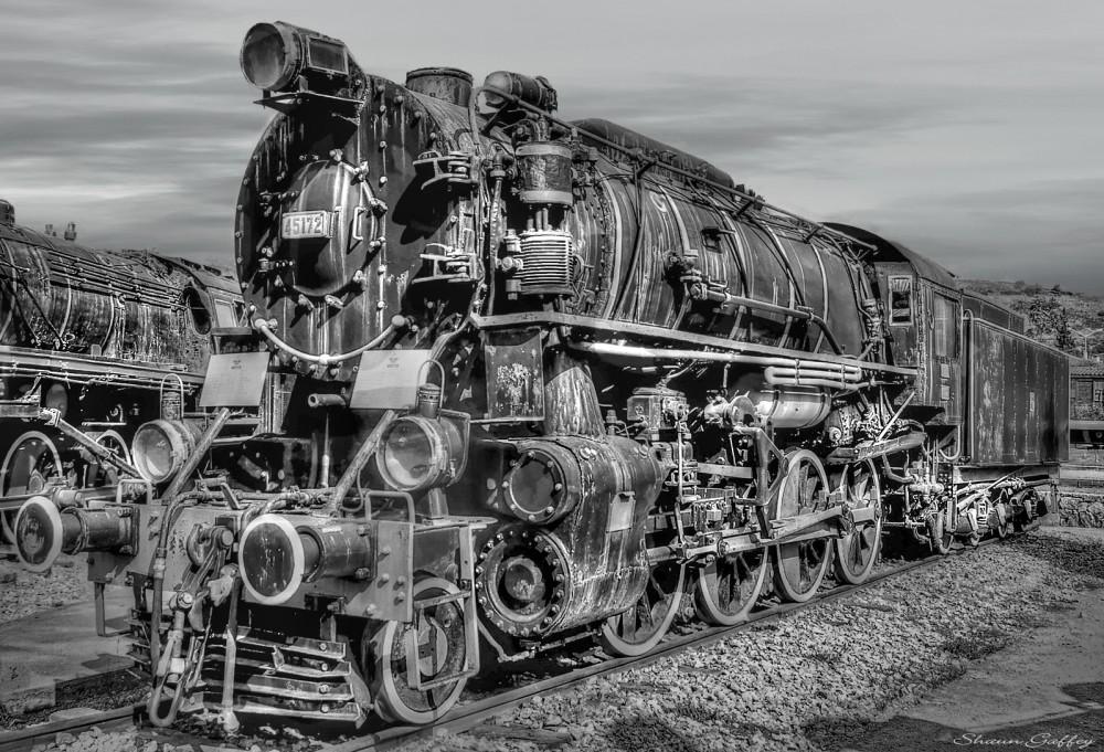 Steam Locomotive, Selcuk Turkey.