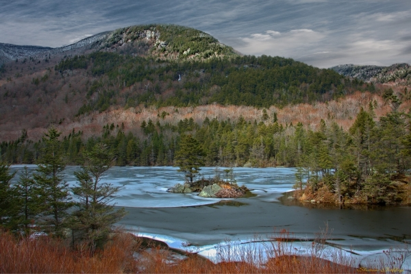 Lake White Mountains New Hampshire.