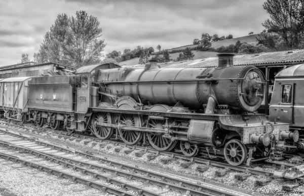 DUMBLETON  HALL  Locomotive. Buckfastleigh Devon.