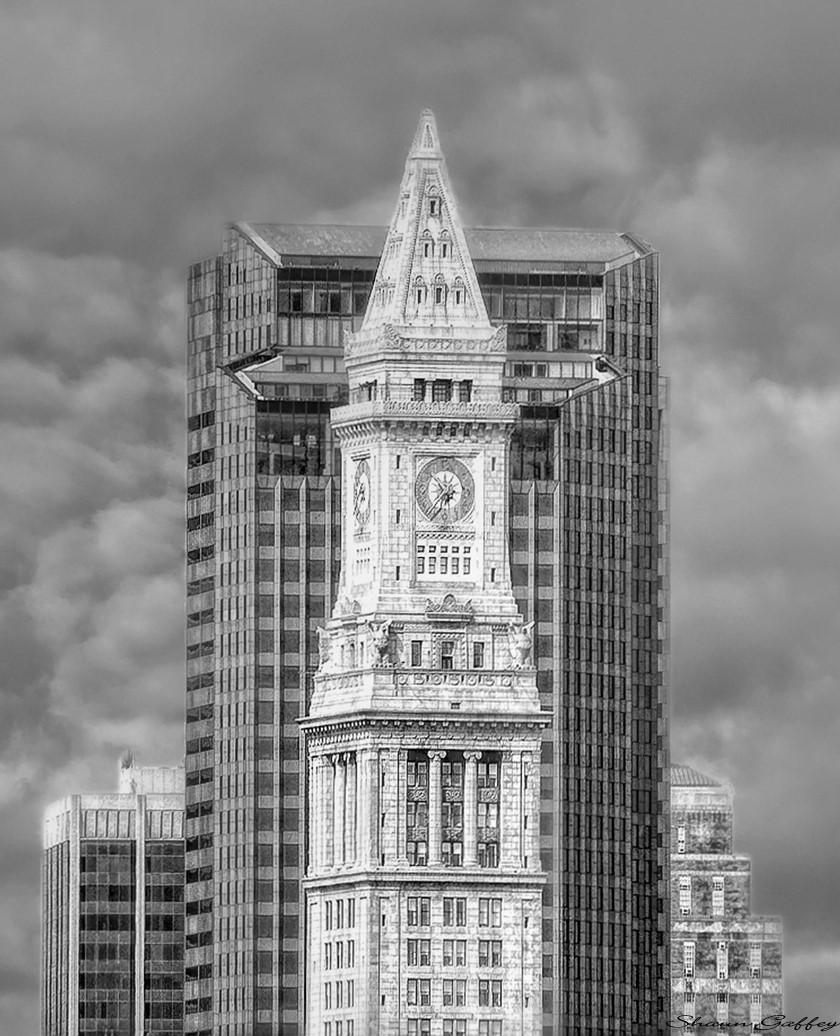 Custom House Tower. Boston Massachusetts.