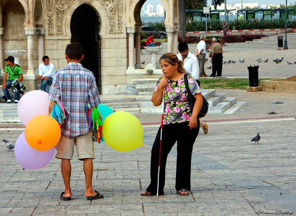Balloon Seller. Izmir Turkey.