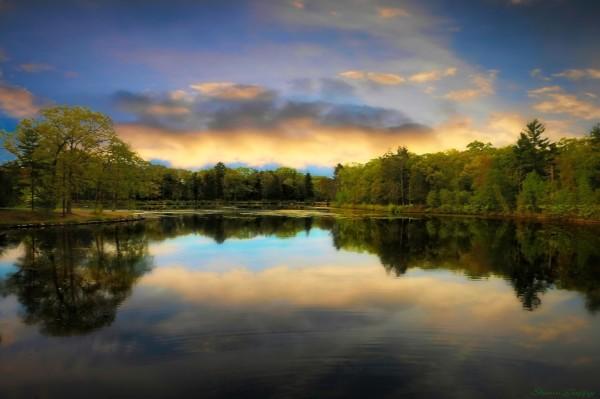 Lake. Brockton. Massachusetts.