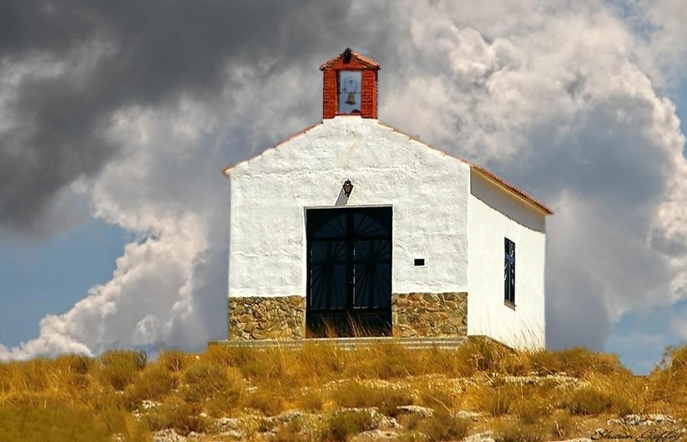 Church. Huercal Overa. Spain.