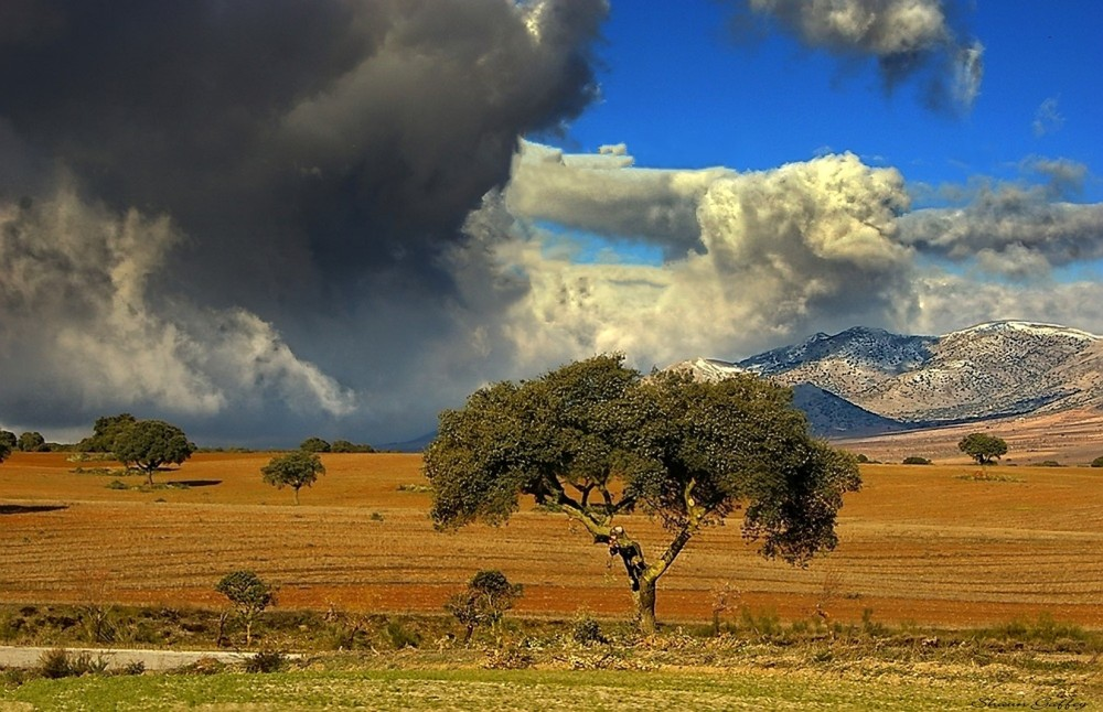 Approaching Storm. Albox. Spain.