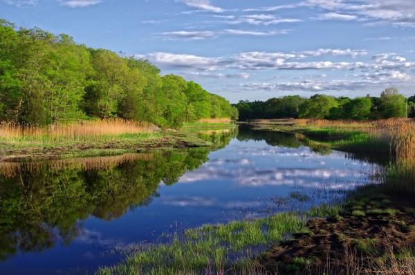 River. Cohasset. Massachusetts.