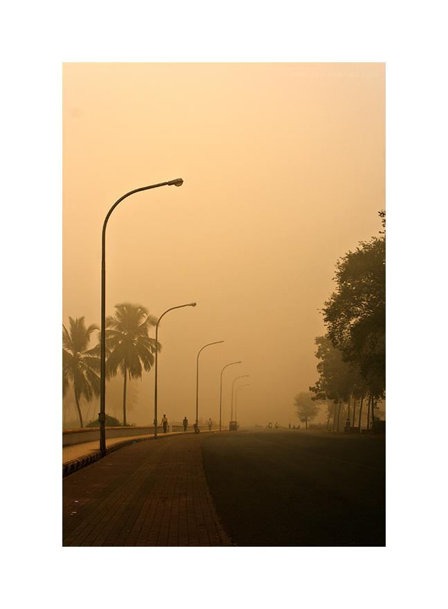 a misty morning....
