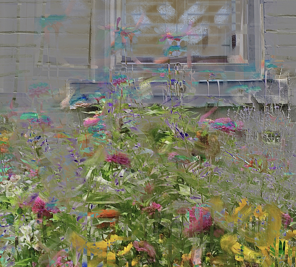 Impression of a window garden