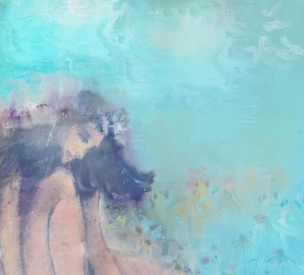 Impression Lady Modern Dream Love Water