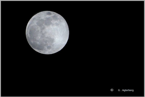 Snow moon.