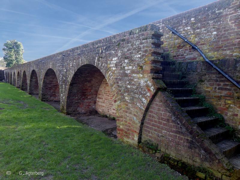 De oude stadsmuur.