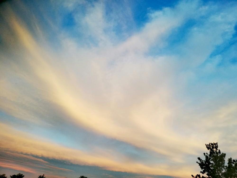 The sky 9-08-2019 / 21.15 uur