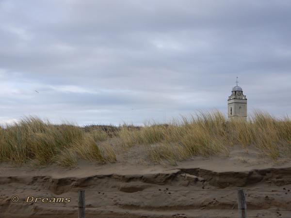 The dunes in Katwijk .