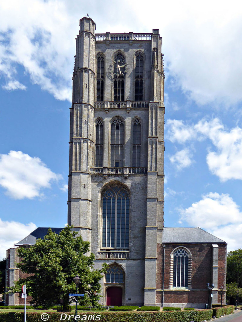 Sint Catharijne-church .  3 - 07 - 2019
