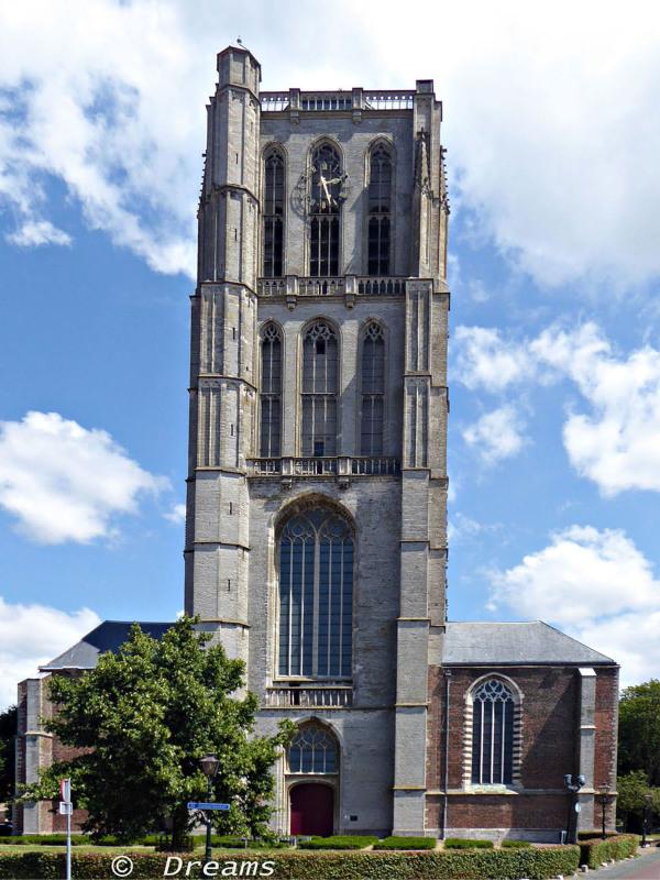 Sint Catharijne-church .  3 - 07 - 2019