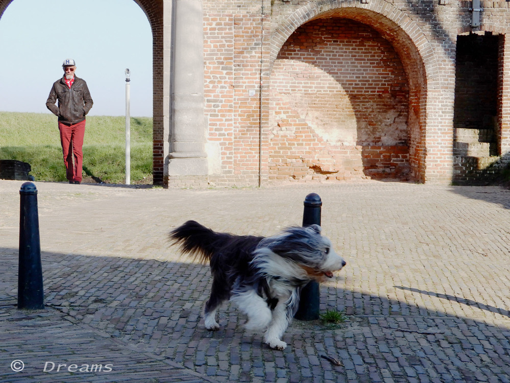 Time to drink , running I'm thirsty . Heusden 7