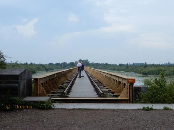 Walking on the old railway . 2