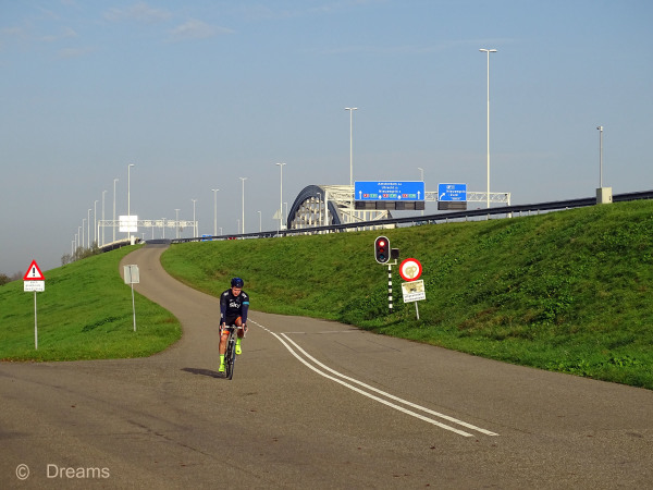 November 8 on the way to the Lekbrug 2