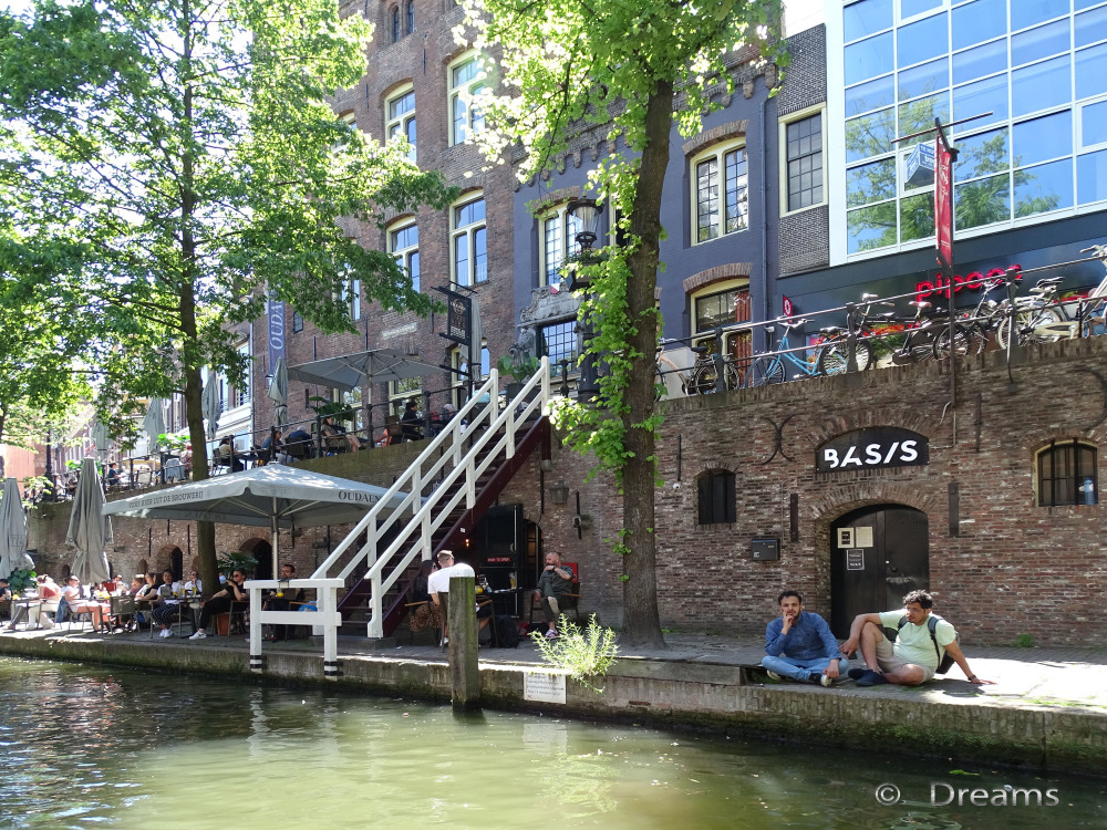 Utrecht from the water . 2