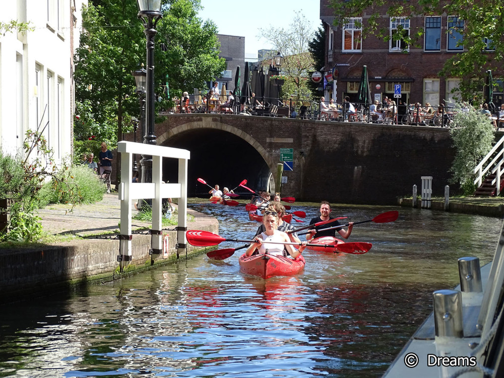 Utrecht from the water . 3