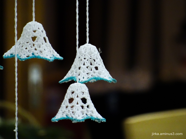 Crocheted bells