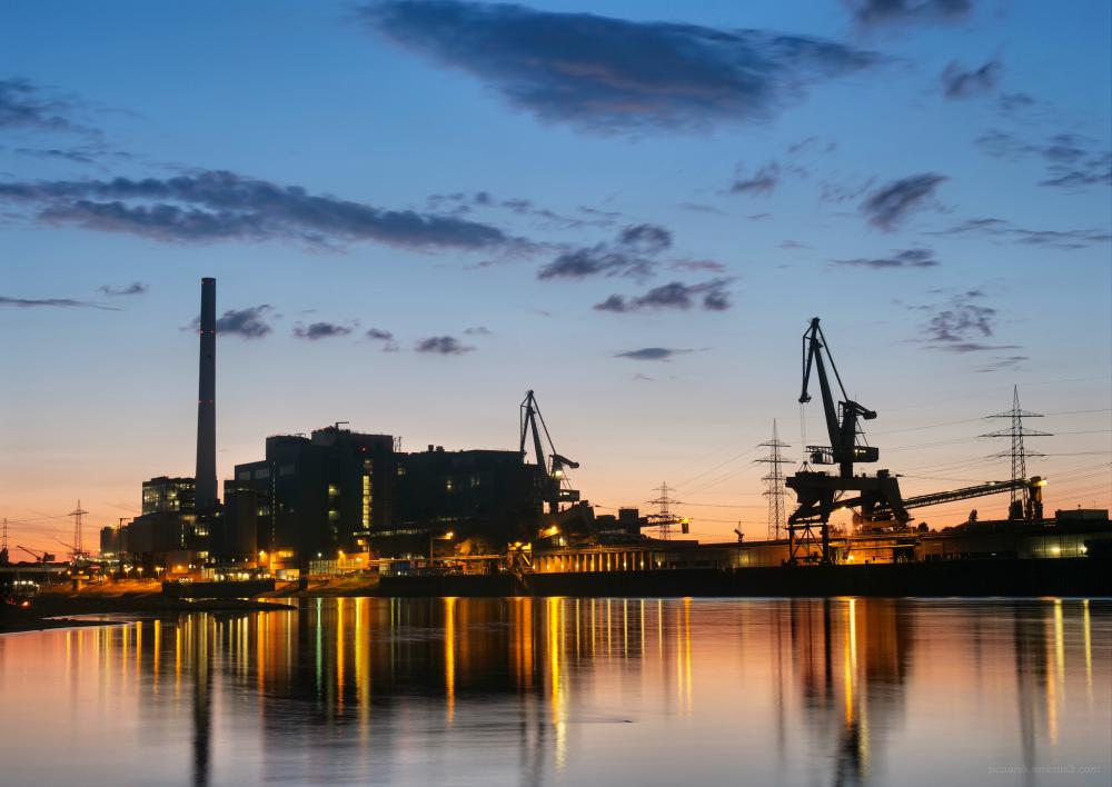 Großkraftwerk Mannheim - Alte Blöcke 1 - 6