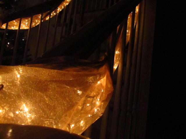 christmas drapes
