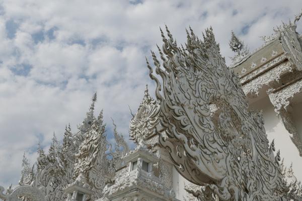 Wat Rong Khun, Detailed